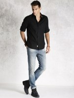 11460716355702-Roadster-Black-Casual-Shirt-171460716355433-4